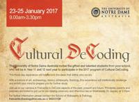 Cultural DeCoding Invitation