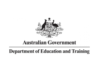 Department of Education and Training Australia logo
